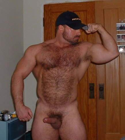Naked Furry Muscle